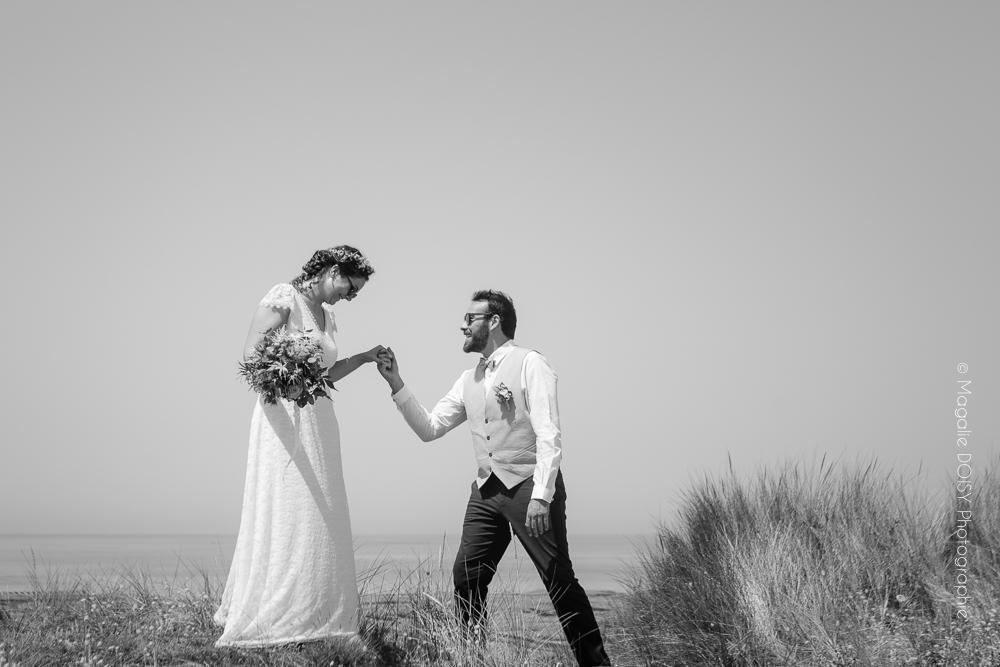 Photographe mariage Gouville sur Mer