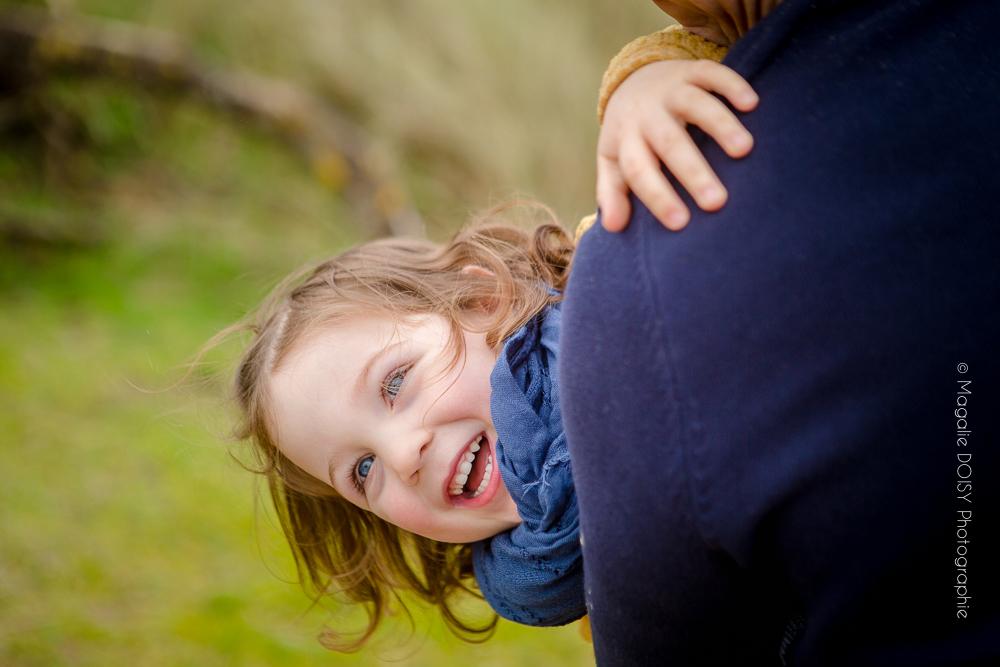 Photographe séance grossesse en famille
