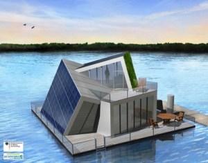 дом на воде Autartec