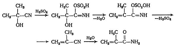 получение эфиров метакриловой кислоты