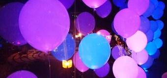 Светящиеся шары, как инструмент декора (ликбез поставщика)