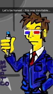 Inevitable Dr. Who / Simpsons Mashup