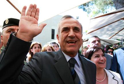 Michel Sleiman election