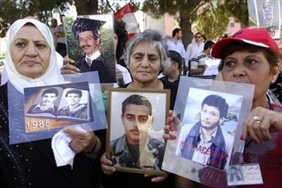 Detenus libanais en Syrie