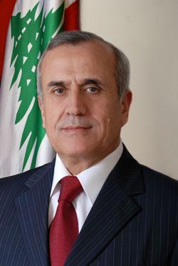 Michel Sleiman - Président de la République Libanaise