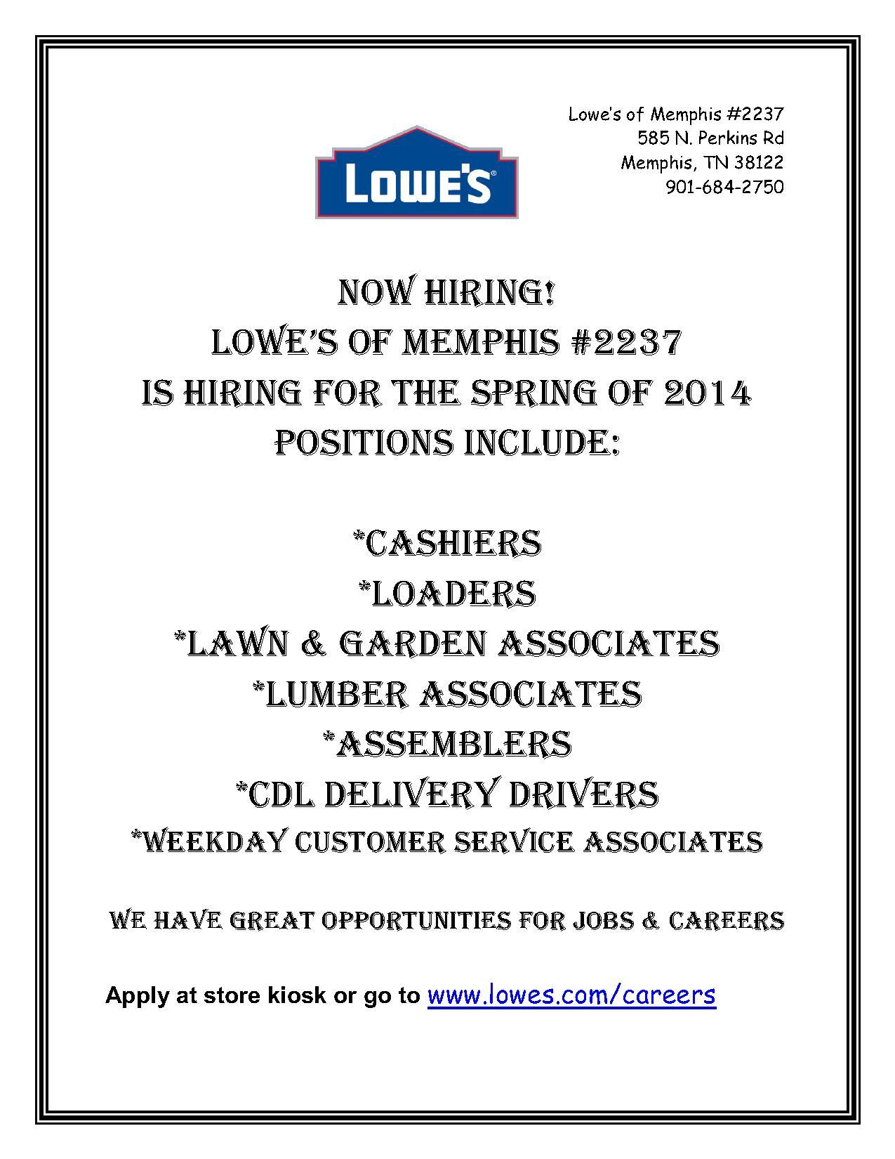 23 January 2014 Job & Career News From The Memphis