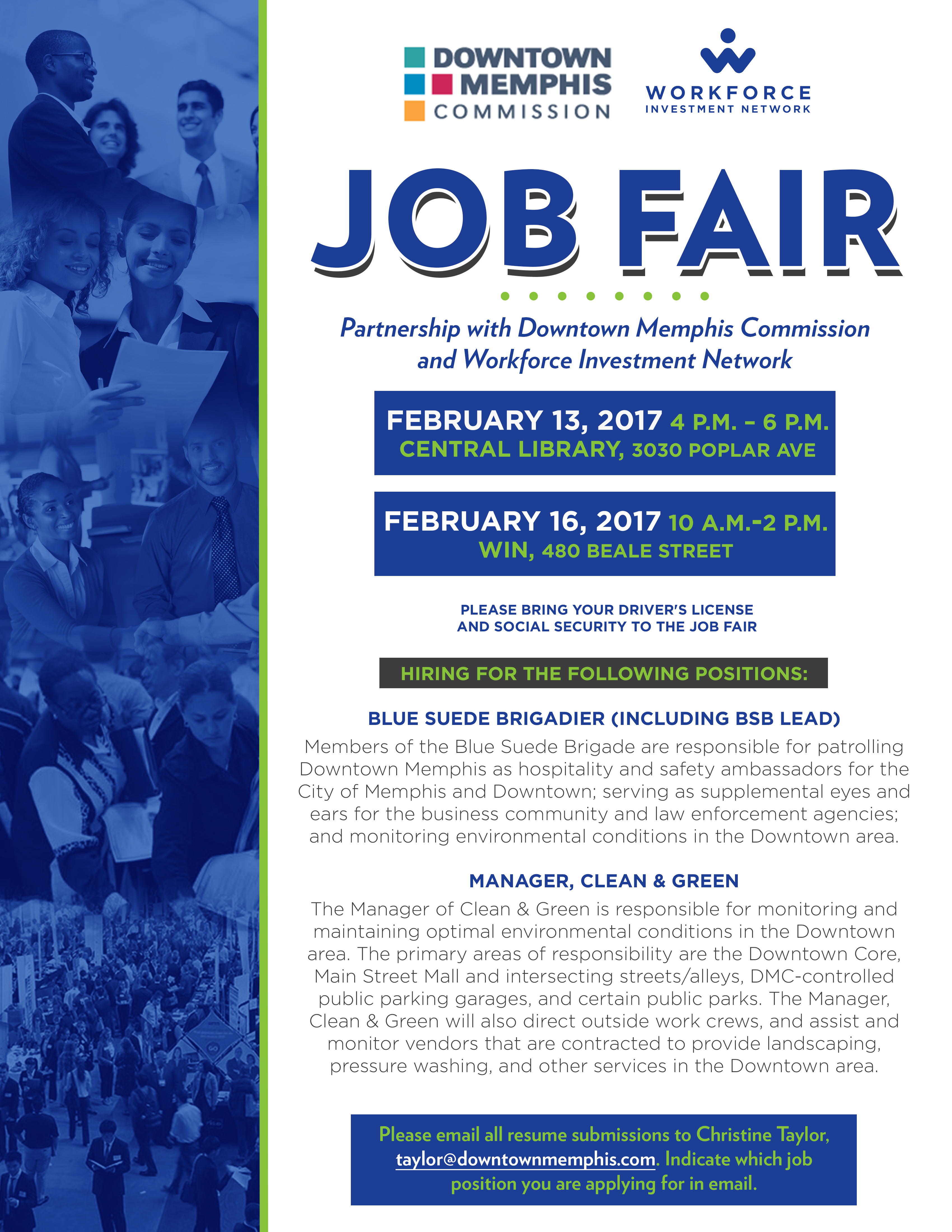 Job Fair Hosted By Downtown Memphis Commission And