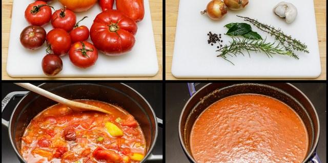 Tomatengrundsauce
