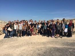 Us (+ the grads) in Cappadocia