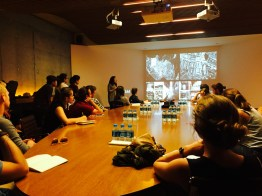 Lecture at Emre Arolat's Office