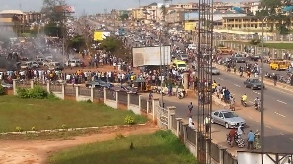 a2 Petrol Tanker Accident takes lives of over 65 Persons in Onitsha   Photos