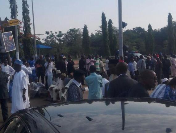 04 National Assembly Complex Shut From Assembly Members & Others