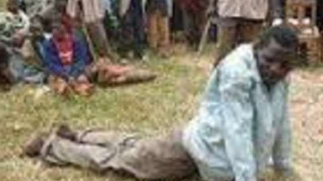 Flogging-Punishment 70 yr-old Goat thief gets Hot Lashes of the Cain as Punishment