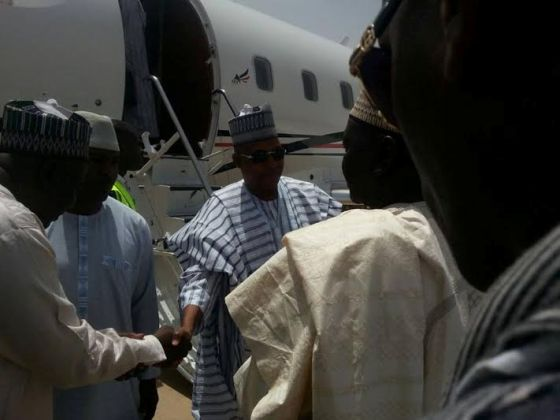 PLANE-3 First Commercial Flight Lands in Maiduguri Int'l Airport after Shutting Down 2years Ago