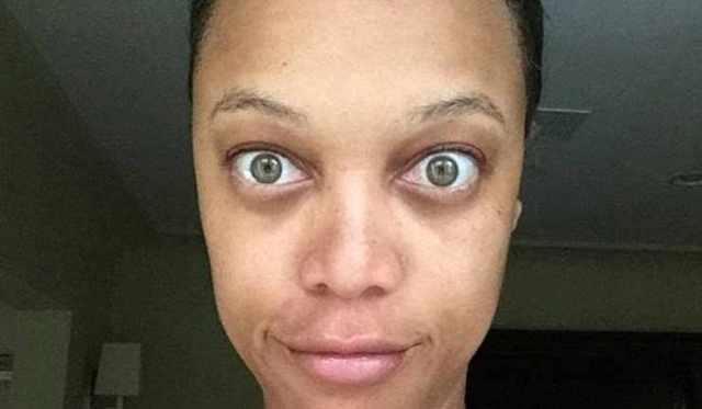tyra Check This Out, Tyra Banks' No Makeup Selfie