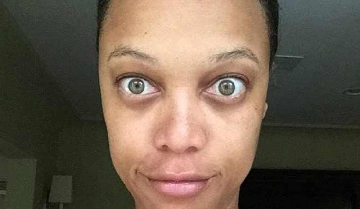 Check This Out, Tyra Banks' No Makeup Selfie