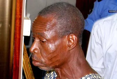 wpid-man Shocking!  Police Parade Old Man Who Defiled Daughters, Nieces