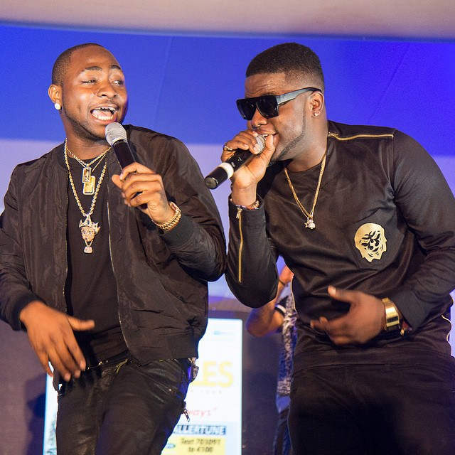 wpid-smoty1-davido-and-skales Photos From Skales MOTY Album Launch