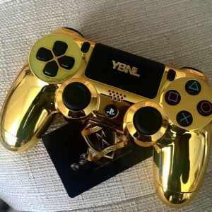wpid-ybnl-pad-300x300 YBNL's Boss gets a Customized Gold Playstation4 Game Pad (Photo)