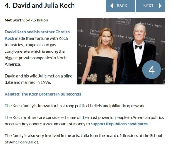 42 Ever Heard of the World's Wealthiest Couples?? Meet the First 10 | Photos