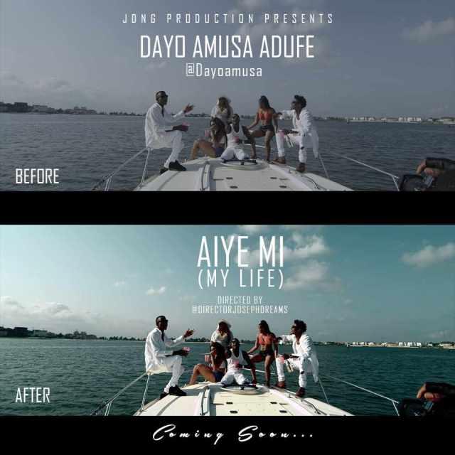 ADUFE BTS Photos: Dayo Amusa [@dayoamusa] - Aiye Mi [dir. @iamJosephDreams]