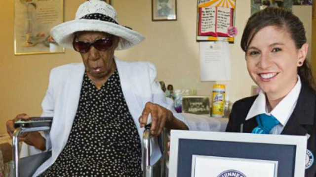 C001A0C06_8f079300-2475-11e5-85df-0200ac11f45b Happy 116th Birthday to susannah mushatt Jones, who is now the world's oldest living person