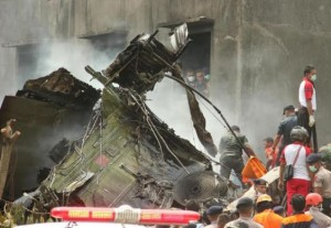 k29-300x207 Indonesian Military Plane Crashes Into Residential Area leaving Atleast 100 Dead