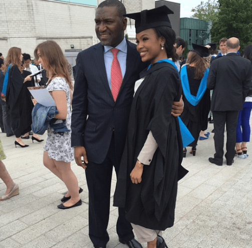 wpid18958-1 Photos: Dangote's daughter graduates from UK University