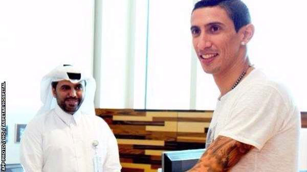 Angel-di-maria Di Maria Happily Ports To PSG From Man United