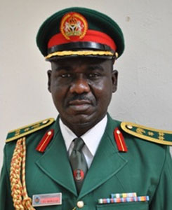 "Buratai ""The Nigerian Army is Back and Fully On Track"" - Buratai"