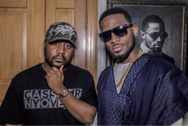 IMG_0561 Cassper Nyovest is presently in Lagos, Hanging With D'banj at Home