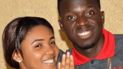 Nigerian-Comedian-Akpororo-and-his-fiancee-Josephine-Abraham Famous Nigerian Comedian, Akpororo Proposes to Fiancée