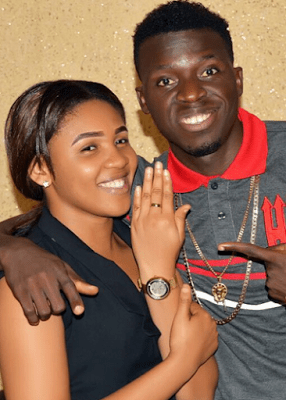 Nigerian-Comedian-Akpororo-and-his-fiancee-Josephine-Abraham1 Famous Nigerian Comedian, Akpororo Proposes to Fiancée