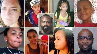The-murdered-Jackson-family Meet Man Who Murdered His Ex-Wife, Her Husband and their 6 Kids