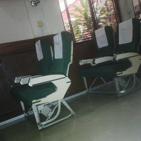 airplane-seats See Hospital in Lagos State Making Use of Airplane Seats | Photo