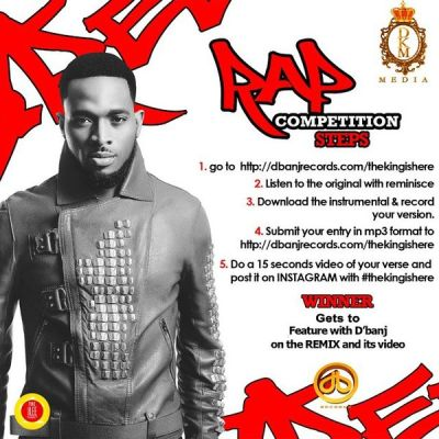 dbanj Download Beat: D'Banj [@iamdbanj] – The King Is Here ft. Reminisce | Rap Competition