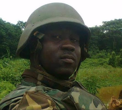 fallen-soldier Pirates Killed Soldier on Friday in Bayelsa State | See His Photo