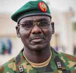 army-chief Chief Of Army Staff, Tukur Buratai says Nigeria is Being Threatened