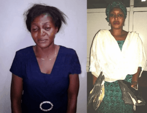 2-female-drug-traffickers 2 Ladies Caught with Cocaine in Lagos Airport