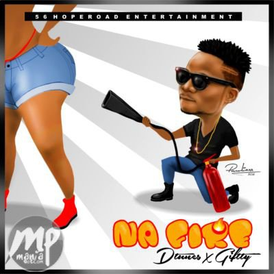 MP3-D'tunes-x-Giftty-Nah-Fire-Artwork Download MP3: D'tunes x Giftty - Nah Fire