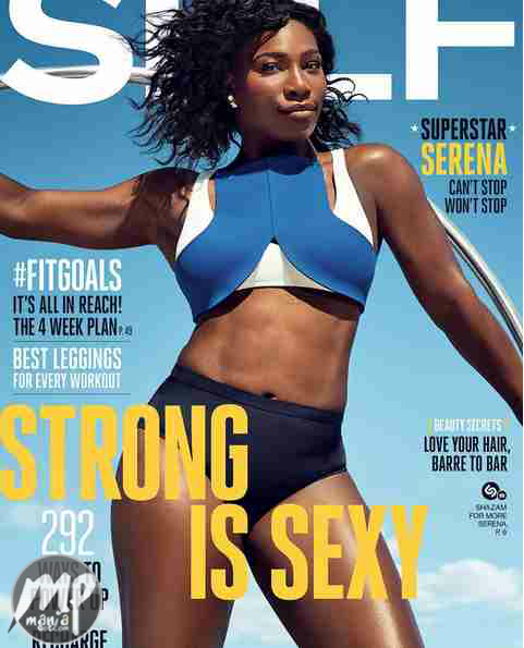 wp-1470155717427-1 Serena Williams shows off strong & S3xy self for Self magazine (Photo)