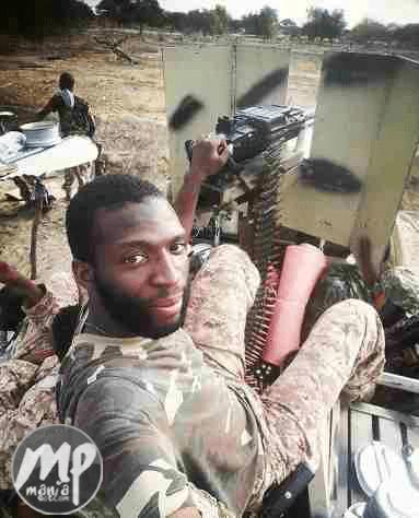 wp-1470458098946-1 See Selfie of Nigerian soldier fighting Boko Haram (Photo)