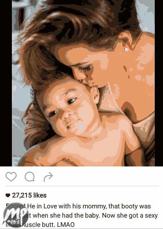 wp-1470726662149-1 50 cent can't stop talking about his baby mama, Daphne Joy''s backside