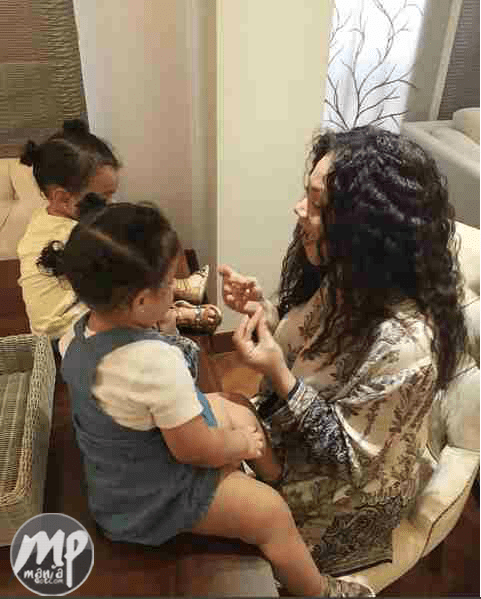 wp-1470809957462-1 So Much Beauty... Adorable Photo of Nadia Buari with her twin girls