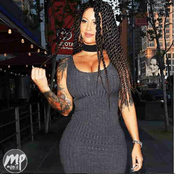 wp-1471000076535-1 Amber Rose looking stunningly beautiful in braids (Photo)