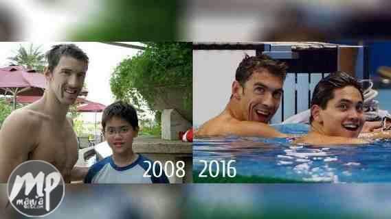wp-1471089438291-1 He met Michael Phelps in 2008 then beat him in 2016. Meet Joseph Schooling