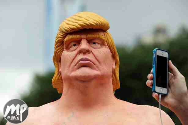 wp-1471584190143-1 Nak3d Donald Trump Statue Found in New York Park... See Photos