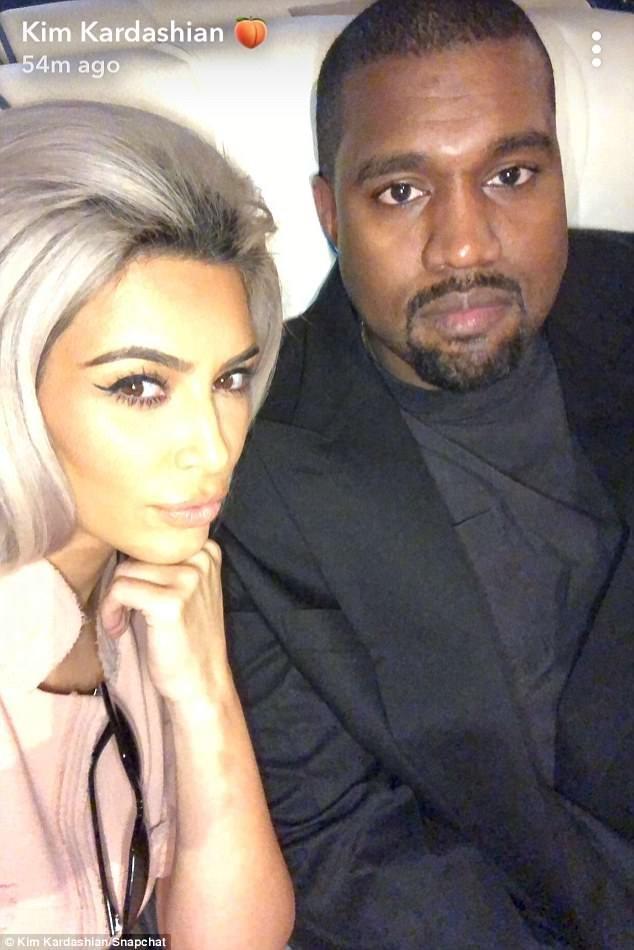 Rekindled Love! Kim Kardashian & Kanye West All Loved Up (Photos)