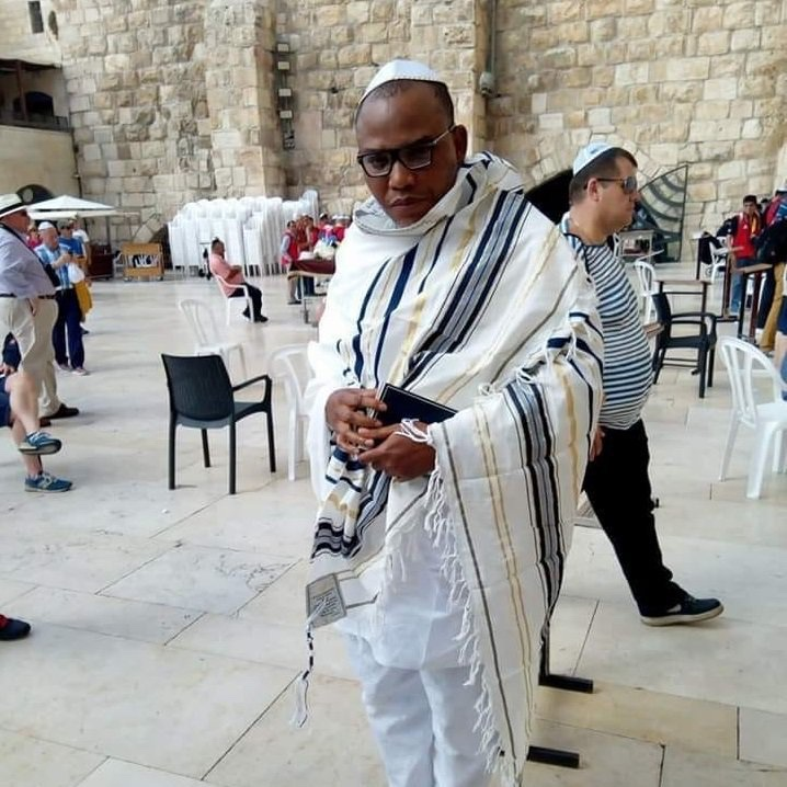 Nnamdi Kanu Sighted In Israel after One Year in Hiding