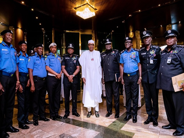 Buhari Approves Improved Salary Structure For Nigeria Police Force